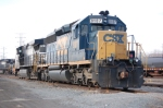CSX 8107 & NS 9197